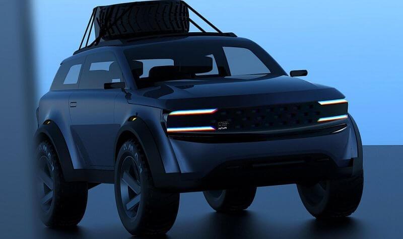 Точно новая НИВА? Представлен новый вариант дизайна нового поколения внедорожника