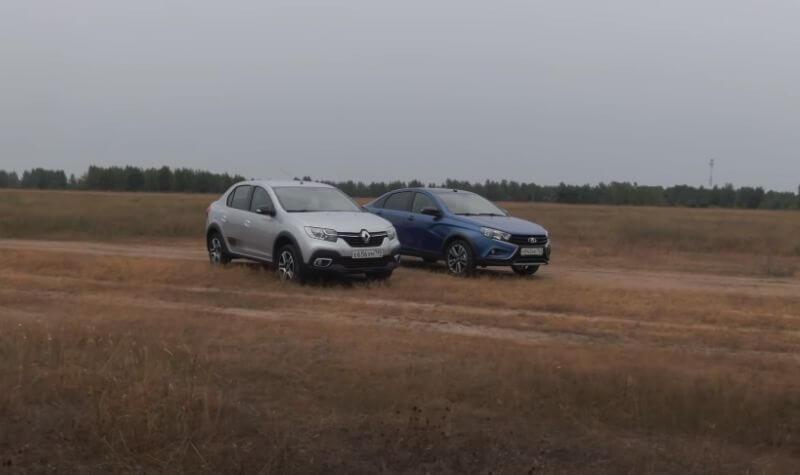 LADA Vesta Cross vs Renault Logan Stepway: Кросс-седаны оценили в сравнительном тесте