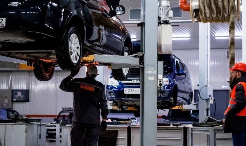 LADA догоняет Lexus по качеству обслуживания